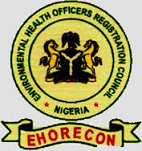 ENVIRONMENTAL HEALTH OFFICERS REGISTRATION COUNCIL OF NIGERIA.