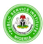PUBLIC SERVICE INSTITUTE OF NIGERIA